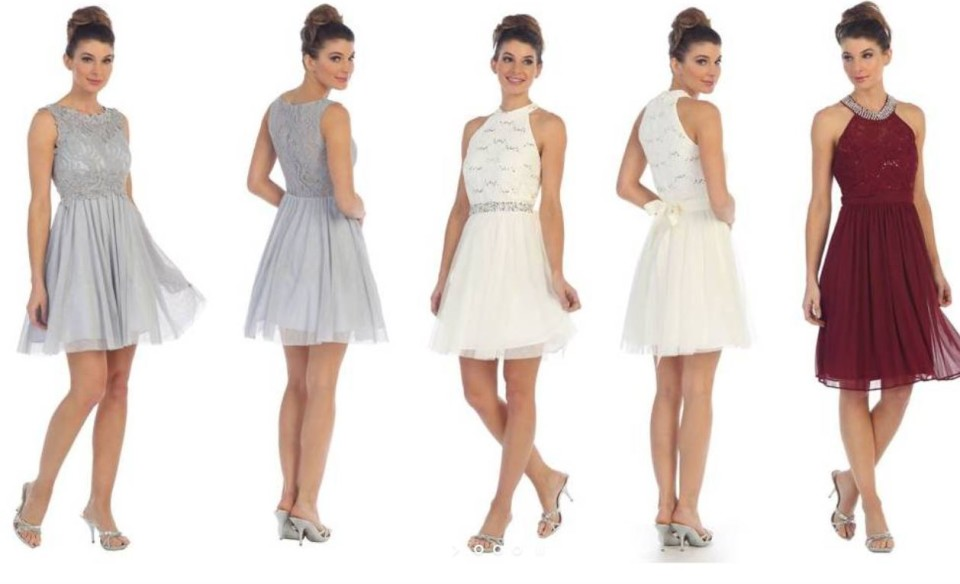 Bridesmaid Dresses & Ball Gowns